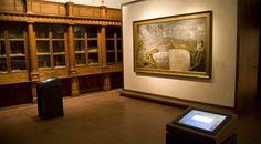 Interior de una de las salas del Museo del Greco, presidida por la obra «Vista y plano de Toledo» © Ministerio de Cultura