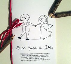 Share your love story with this custom coloring book for the kids table. http://www.etsy.com/listing/153978814/custom-wedding-kids-activity-book-fun?ref=sr_gallery_44&ga_search_query=custom+wedding&ga_view_type=gallery&ga_ship_to=US&ga_search_type=all