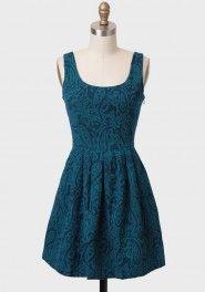 corrine brocade dress by BB Dakota