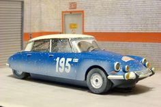 Scalextric Tecnitoys 6473. Citroen DS 21. Rallye Monte Carlo 1966.
