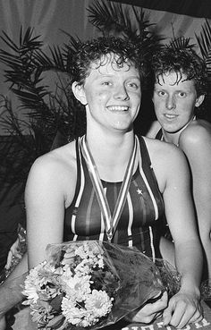 Petra van Staveren (1966), Los Angeles 1984. Swimming - Women's 100m breast stroke