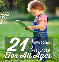 homeschool resources for all ages