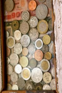 Foreign coin art