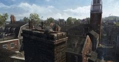 Assassin's Creed III Art & Pictures  Boston Rooftops