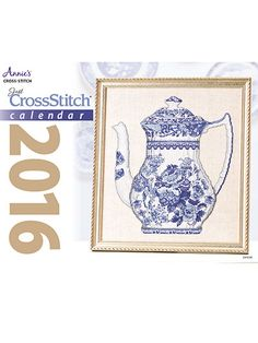 Just CrossStitch Calendar 2016