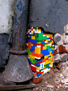 Jan Voorman's LEGO Street Art