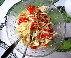 Kääpiölinnan köökissä Kinds Of Salad, Coconut Flakes, Cabbage, Salads, Spices, Vegetables, Green, Food, Spice