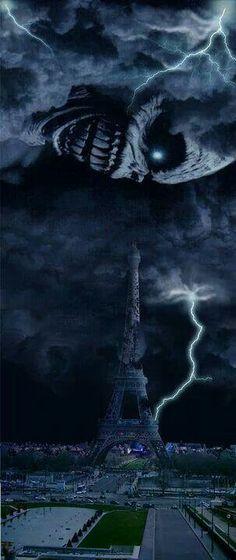 Eddie over Paris