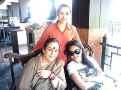 Sonakshi and Poonam Sinha at the O Hotel Goa.
