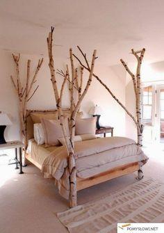 birch bed OMG