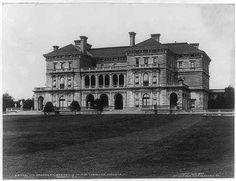 The Breakers | Newport, RI, cottage of  Mrs. Cornelius Vanderbilt II (c.1904).
