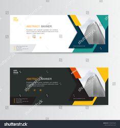 Vector Abstract Banner Design Web Template Stock Vector (Royalty Free) 1593075025 Template Web, Banner Template, Templates, Web Banner Design, Design Web, Business Web Design, Lorem Ipsum, Royalty Free Stock Photos, Social Media