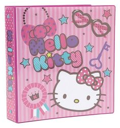 "Hello Kitty 1.5"" Binder: Lovely (Brand New )  Licensed  School Accessories"