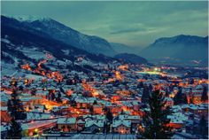 Winter in Trento, Italy.