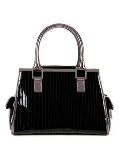 9df85ce78814e ARANNA - Metallic quilted tote bag - Black