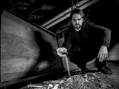 Ghost Adventures: Jay Wasley in the basement of the Sowden House, aka the Black Dahlia House.