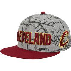 d47eaeee72881 Men s Cleveland Cavaliers Mitchell   Ness Gray Metro Snapback Adjustable Hat
