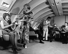 publicity image for United Airlines showing service passengers would receive. The style of uniform indicates that it was a flight to a tropical destination such as Hawaii This is Connie S. My best flying partner and best friend. And she is still flying! Airline Travel, Air Travel, Airline Flights, Hawaii Flights, First Class Flights, Airline Uniforms, International Airlines, United Airlines, Glamour