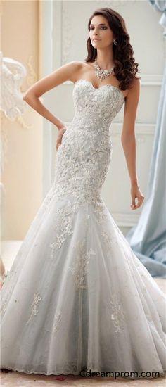 Mermaid wedding dress, Sleeveless wedding dress, Fashion!