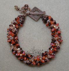 Kumihimo With Beads   Gilby's Corner: My 2nd Kumihimo Bracelet