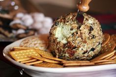 Super Bowl Snack: Spicy Cheese Ball Recipe (World's Best) Great recipe. Read her other recipes for inspiration. Cheese Ball Recipes, Appetizer Recipes, Appetizers, Appetizer Ideas, My Burger, Tailgate Food, Football Tailgate, Crab Cakes, Recipes From Heaven