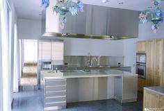 Galerie - Kategorie: Chromstahl-Küche Privathaushalt - Bild: 15688-05-270
