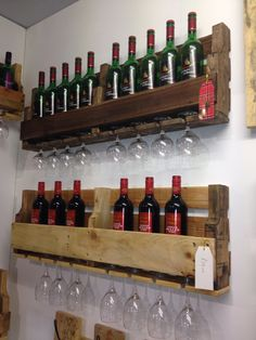 Our pallet Wine racks