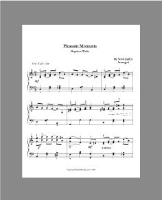 Ragtime, Jazz, and Blues sheet music to teach to your piano students.  How fun is that?