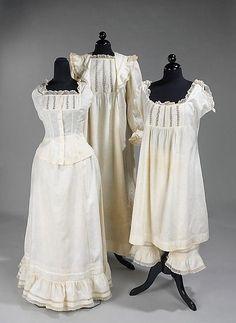 Underwear, 1898, Metropolitan Museum of Art , Brooklyn Museum Costume Collection,