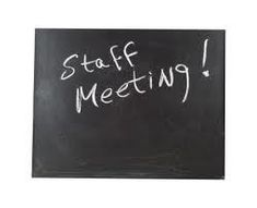 As I finished up my weekly staff meeting today, I realized how far I have come with leading staff meetings. My first staff meeting was held in the…