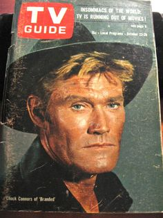 Other TV Memorabilia Navy Marine, Army & Navy, Chuck Connors, The Rifleman, Tv Westerns, Green Beret, October 23, Tv Guide, Military