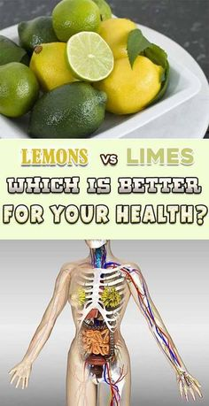 LEMONS VS LIMES. WHICH ONE IS BETTER FOR YOUR HEALTH??////?////?/