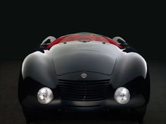 1935 Alfa Romeo 6C  Aerodinamica Spider
