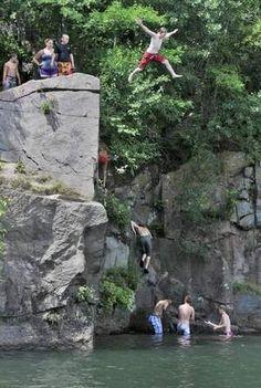 Quarry Park! Jump and be crazy