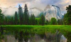 Cathedral Rocks - Yosemite National Park