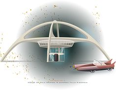 """'Googie architecture"""" http://be.net/gallery/59671519/Googie-architecture"""