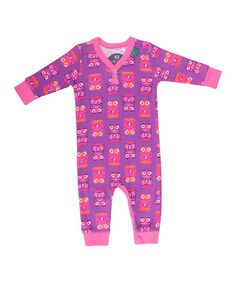 Violet & Pink Hero Print Bodysuit by Fred's World by Green Cotton on #zulilyUK today!