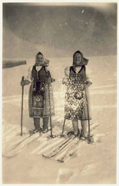 Telgart, Slovakia Folk Costume, Costumes, Ski Posters, Principles Of Art, Vintage Ski, In Ancient Times, Renaissance Art, Op Art, Vintage Pictures