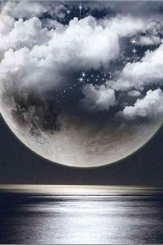 I hate when pesky stars get in front of the moon. Moon Pictures, Nature Pictures, Beautiful Pictures, Night On Earth, Luna Moon, Shoot The Moon, Moon Magic, Beautiful Moon, Sky And Clouds
