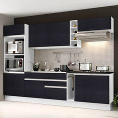 O preto, proporciona um visual elegante e sofisticado ao ambiente. ;)     #decoração #design #madeiramadeira