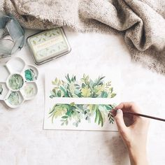 watercolor art, watercolor paintings и drawings Watercolor Cards, Watercolour Painting, Watercolor Flowers, Painting & Drawing, Watercolors, Watercolor Water, Watercolor Projects, Watercolor Design, Diy Painting