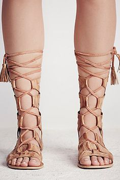 55ad86f9b6b Mesa Verde Gladiator Sandals by Free People - FINAL