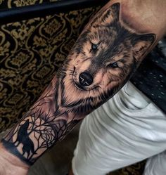 125 best half sleeve tattoos for men: awesome designs + ideas (guide . - 125 best half sleeve tattoos 125 best half sleeve tattoos for men: awesome designs + ideas (guide . - 125 best half sleeve tattoos for men: cool designs + ideas guide) - Wolf Sleeve, Wolf Tattoo Sleeve, Half Sleeve Tattoos For Guys, Best Sleeve Tattoos, Cool Tattoos For Guys, Tattoo Sleeve Designs, Wolf Tattoo Shoulder, Forearm Sleeve, Tattoo For Man
