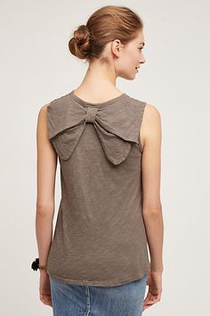 Bow-Back Tank - anthropologie.com