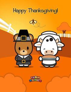 Farm Babies / #kawaii #cute #love #quotes #illustration #baby #farm #uplifting #cartoon #hug #bear #Thanksgiving #holiday