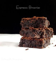 Espresso Brownies | Taking On Magazines | www.takingonmagazines.com | Rich, decadent, delicious and touched with just a hint of coffee, these brownies are a special treat for the whole family.
