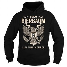 I Love Team BIERBAUM Lifetime Member - Last Name, Surname T-Shirt T shirts