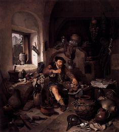 Cornelis bega  The alchemist