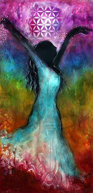 Painting by Tara Catalano. #Inspiration