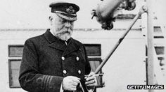 The Titanic's captain Edward Smith. Picture from Getty Images.